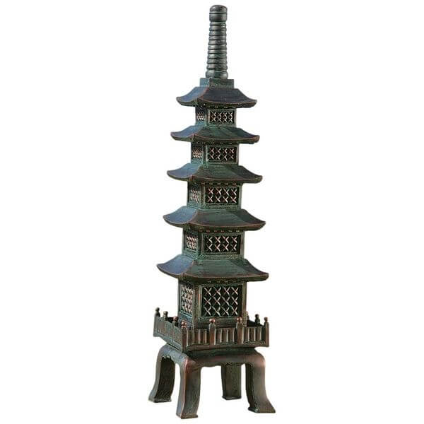 Design Toscano The Nara Temple Asian Garden Pagoda Statue
