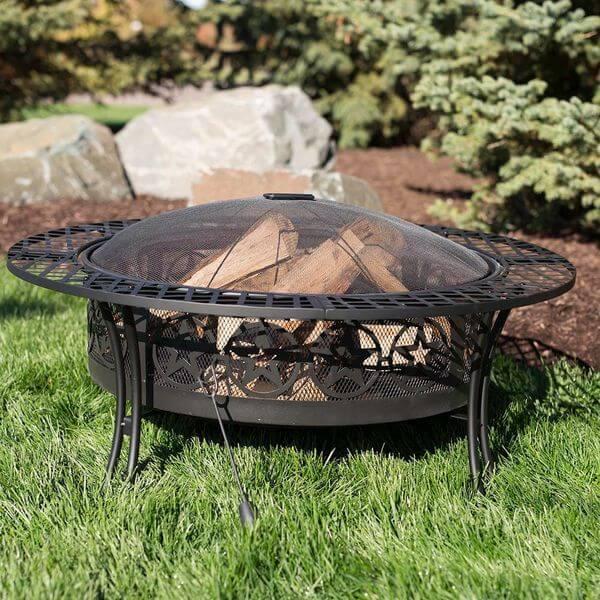 Sunnydaze Four Star Large Fire Pit Table