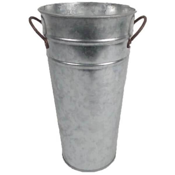 Craft Outlet Natural Flower Bucket, 9-Inch, Set of 3