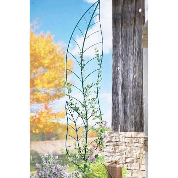 Metal Leaf Trellis