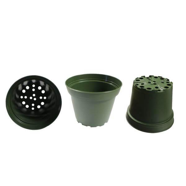 4-Inch Plastic Flower Pots, 30-Pack