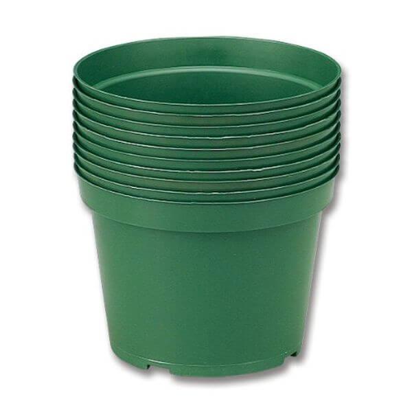 Neo Sci High Impact Plastic Flower Pot, 10 Pack