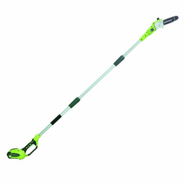 GreenWorks G-MAX 40V Li-Ion 8-Inch Cordless Pole Saw