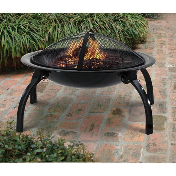 Deckmate Quick Fire Collapsible Outdoor Fire Pit