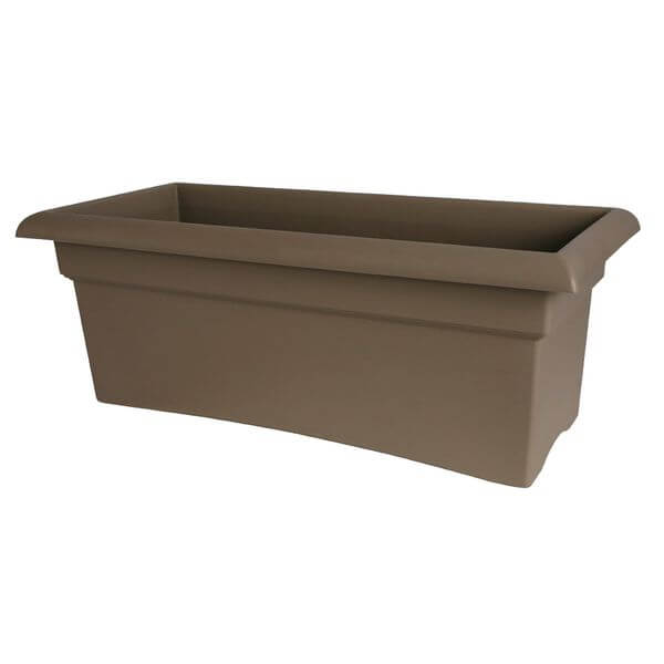 Fiskars 26-Inch Veranda 3 Gallon Rectangular Planter