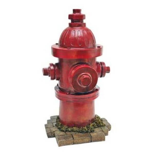 Fire Hydrant Resin Garden Statue