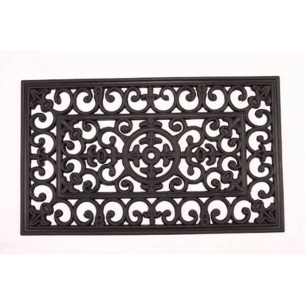 Kempf Rubber Scroll Doormat