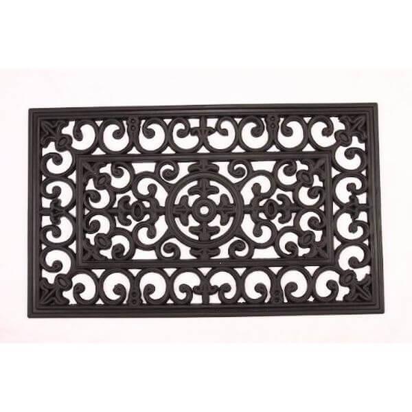 Kempf Rubber Scroll Doormat
