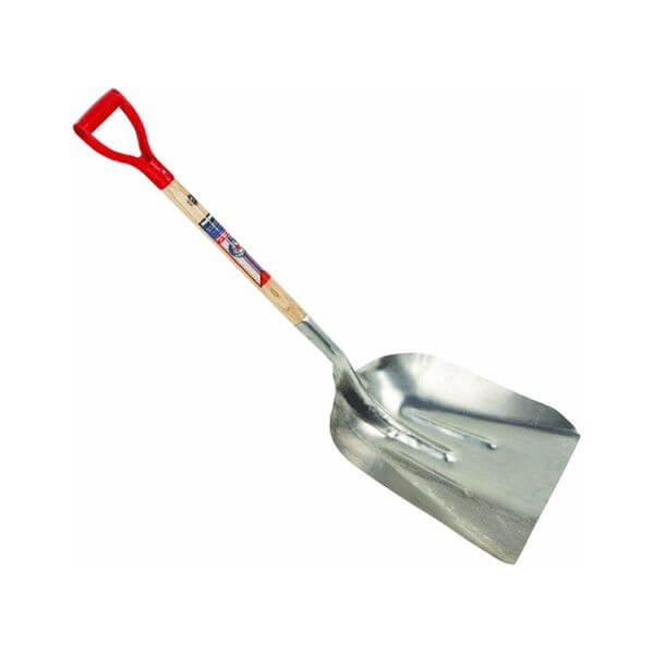 Ames True Temper 1True American Aluminum Scoop Shovel