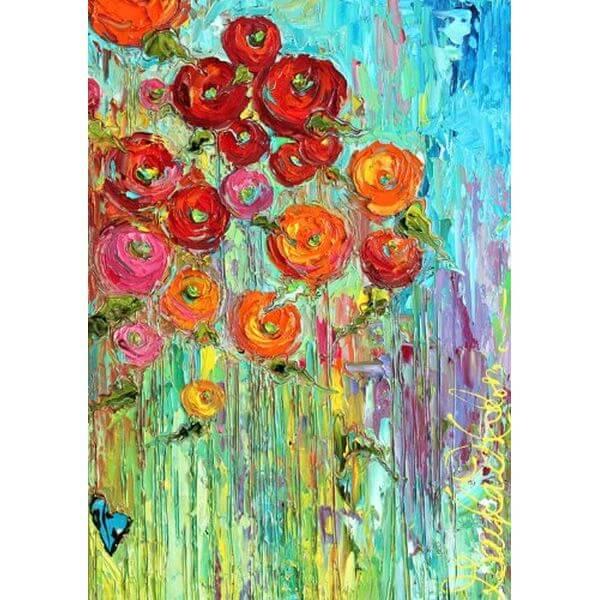 Toland 'Fabulous Flowers' Spring Garden Flag