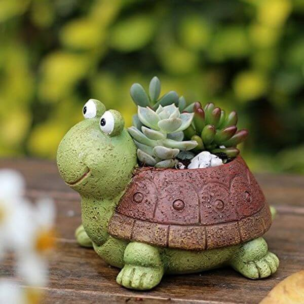 Little Turtle Succulent Flower Pot
