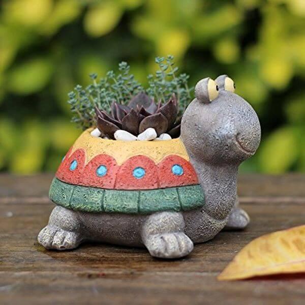Little Turtle Succulent Flower Pot
