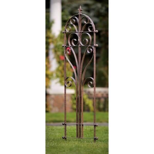H Potter Italian Iron Garden Trellis