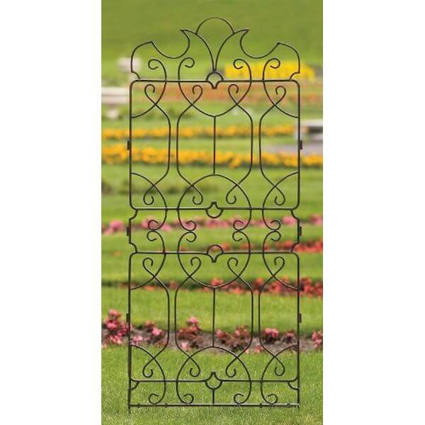 H Potter Wrought Iron Ornamental Trellis