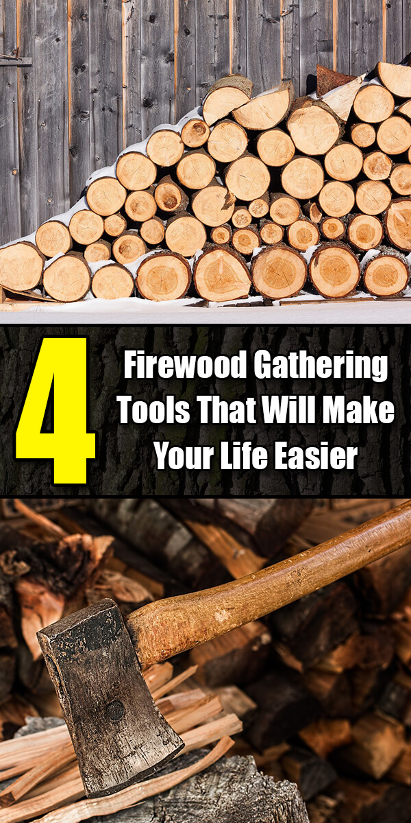 4 Firewood Gathering Tools That Will Make Your Life Easier - Golly Gee Gardening