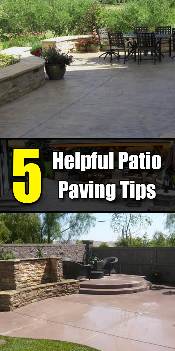 5 Helpful Patio Paving Tips - Golly Gee Gardening