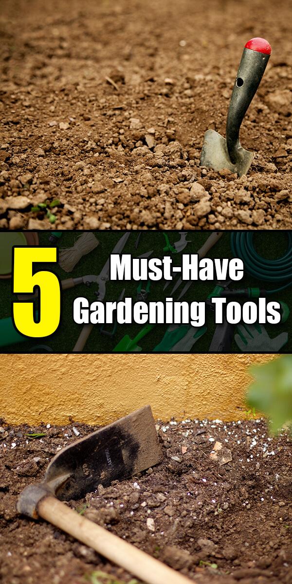 5 Must Have Gardening Tools - Golly Gee Gardening