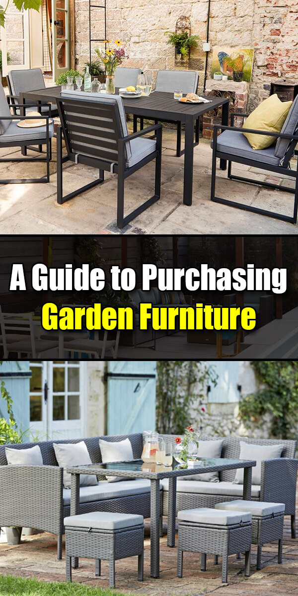 A Guide to Purchasing Garden Furniture - Golly Gee Gardening
