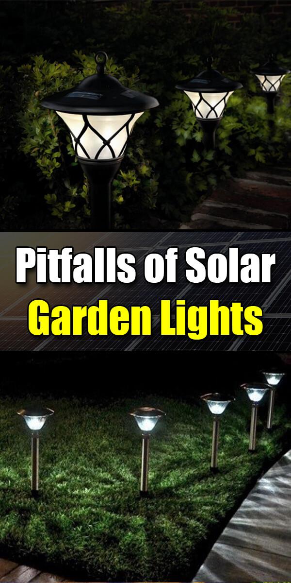 Pitfalls of Solar Garden Lights - Golly Gee Gardening