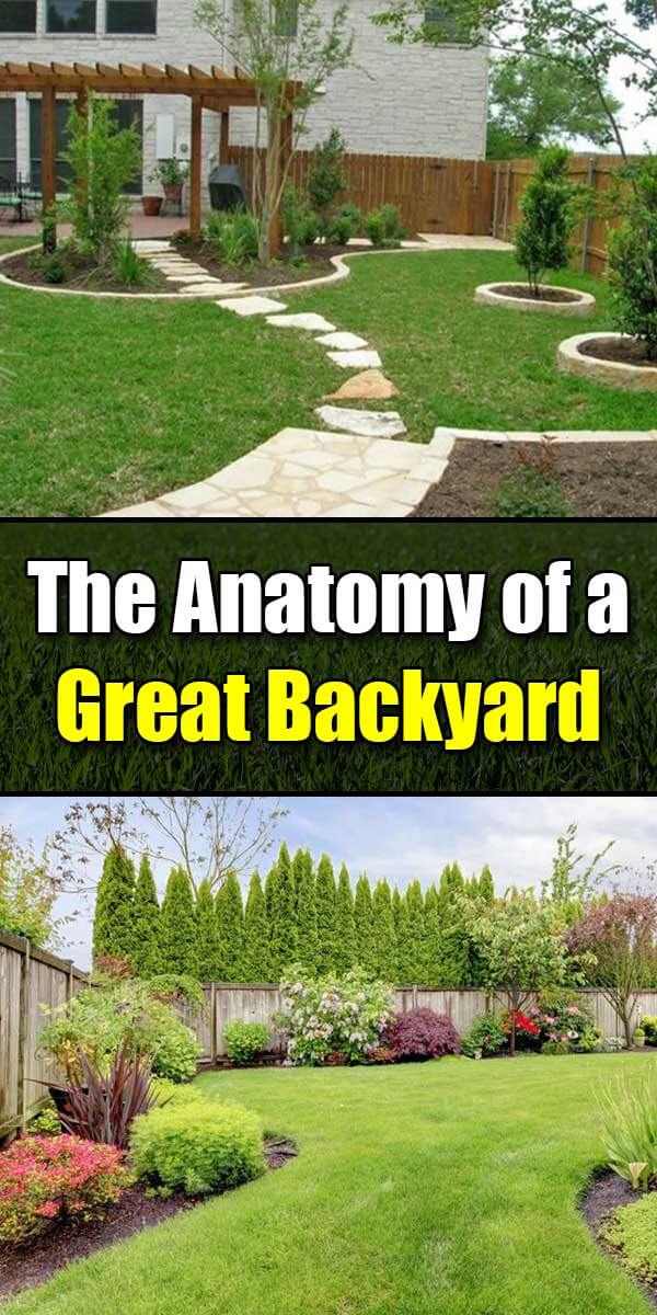 The Anatomy of a Great Backyard - Golly Gee Gardening